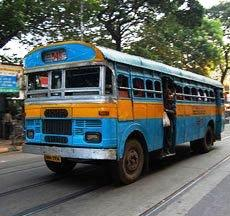 Kolkata Old Buses