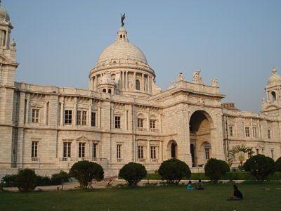 Victoria Memorial- Back View