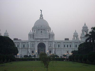 Victoria Memorial - Front View