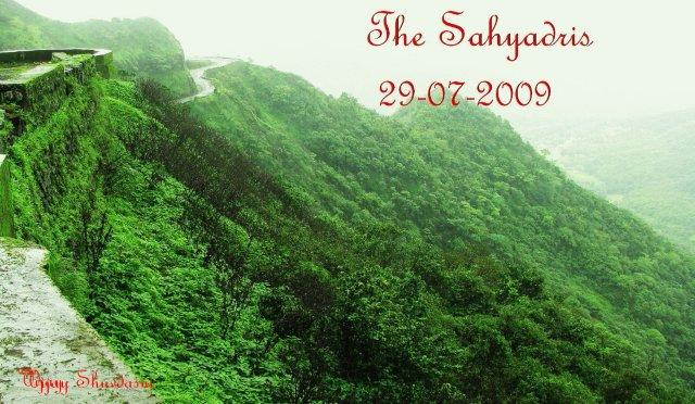 2.The Sahyadri mountains