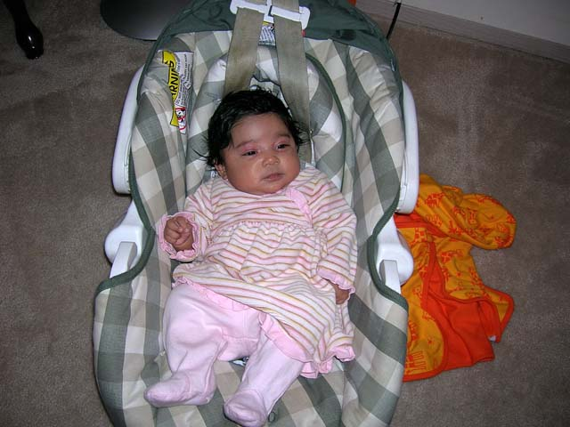 Car Seat is a must