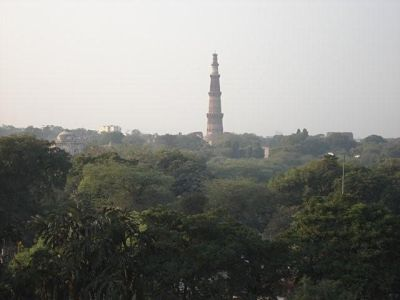 View from Ahinsa Sthal