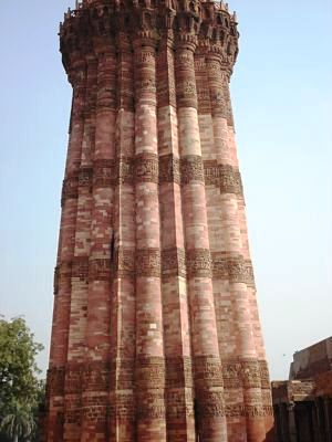 Qutab Minar - Close View