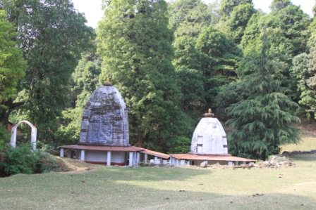 Binsar Temple .. Jungle ke beech main