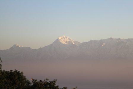 Sunrise... Glimpse to Nanda Devi