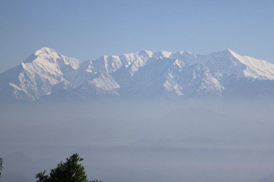 A View to Nanda Devi from Binsar