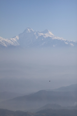 View to Trishul Parvat