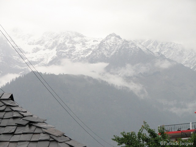 View from Base Camp at Kasol