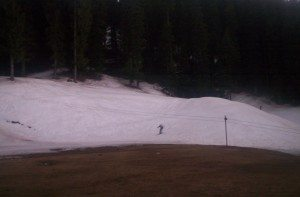 Skieng slope