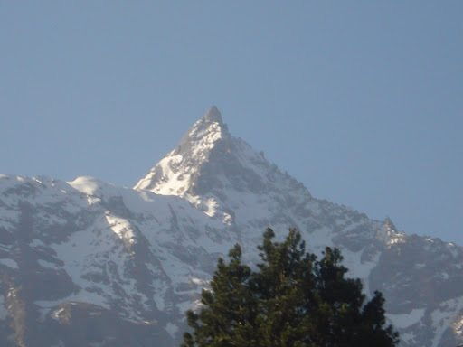 Bam Bam Bhole..!! First view of Kinner Kailash