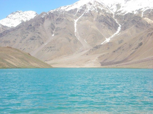 Chandertal, can the water be so blue..??