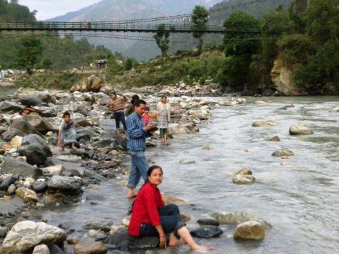 Extended Mastiful moments near river Ganga - Nathala (Uttarkashi)