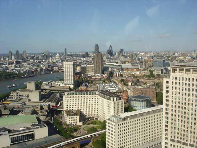 london eye skyline. London Skyline