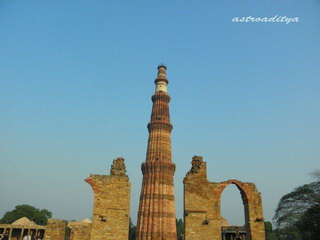 Qutub Minar Iron Pillar Inscriptions ... Minaret'.....Qutub...