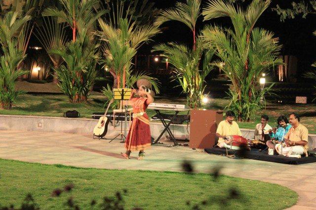 The Bharatnatyam Performance
