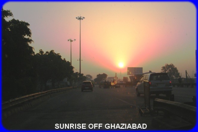Sunrise Off Ghaziabad