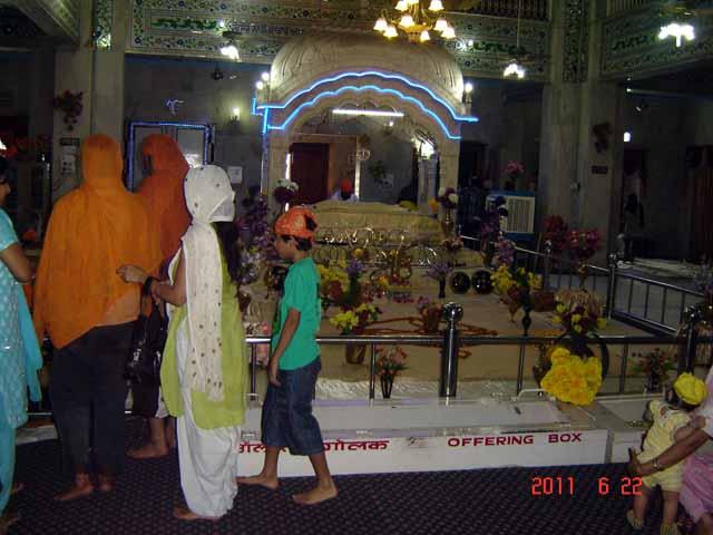 Inside Paonta Sahib Gurudwara