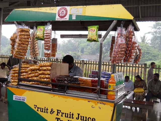 Halwa vendor-Kerala Railway Station