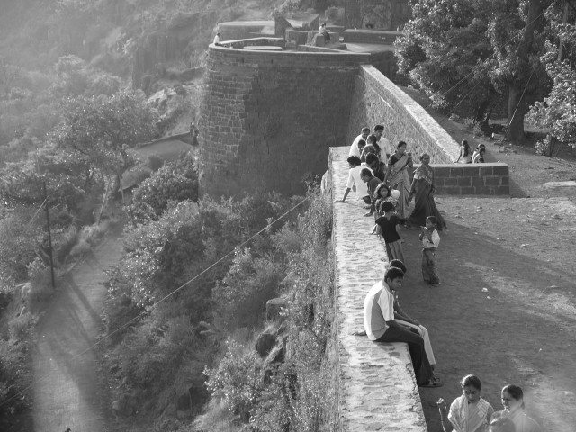 Ramparts of the Panhala Fort