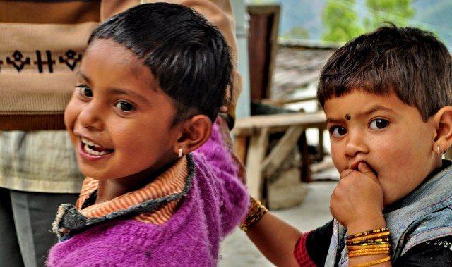 Kids at Sari Village