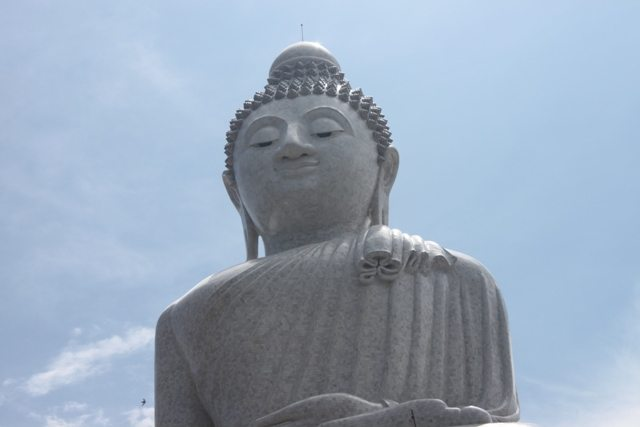 All Buddha faces exude such a peaceful look