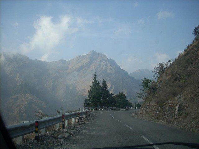 Towards Nainital