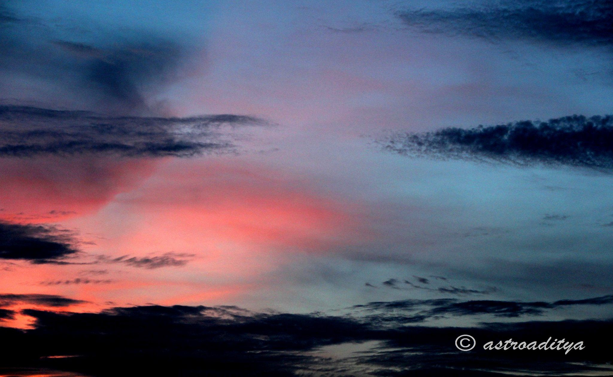 Symphony of Colors... The Evening Sky...