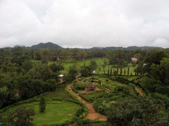 View from Pandava Caves