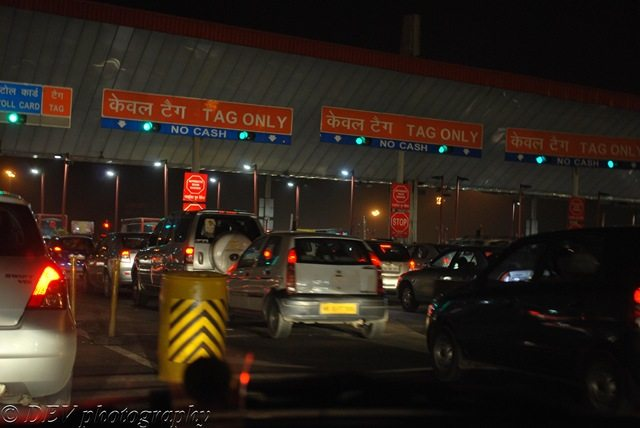 Delhi Gurgaon Toll would always have queues