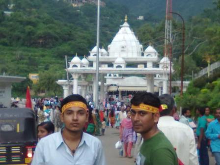 Main entrance gate of Maa Vaishno Devi