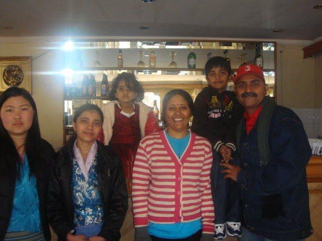 Hotel Crew at Singye