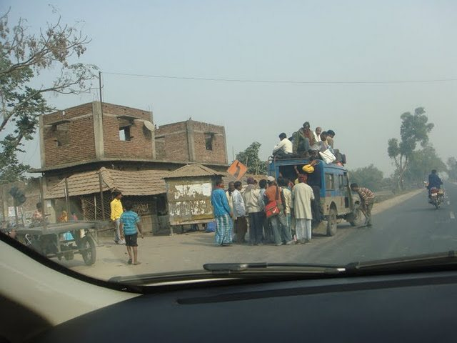 Passenger Packed Vehicle