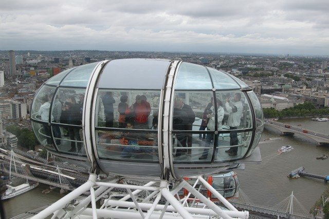 London Eye - Cab