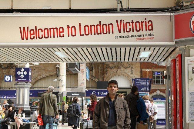 Tube Station - Victoria