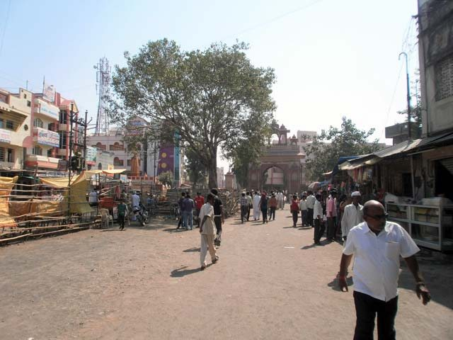 Main Market of Shegaon