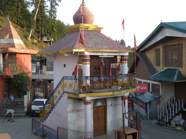 Temple at Narkanda