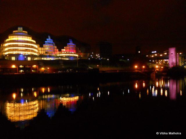 Beautiful Views of the Gateshead Quayside