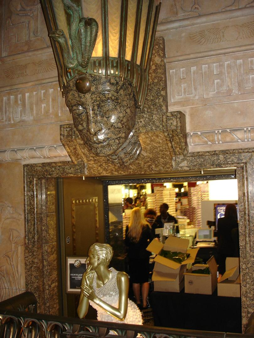 Day 6 Pic 12 - Inside Harrods - Egyptian Connection