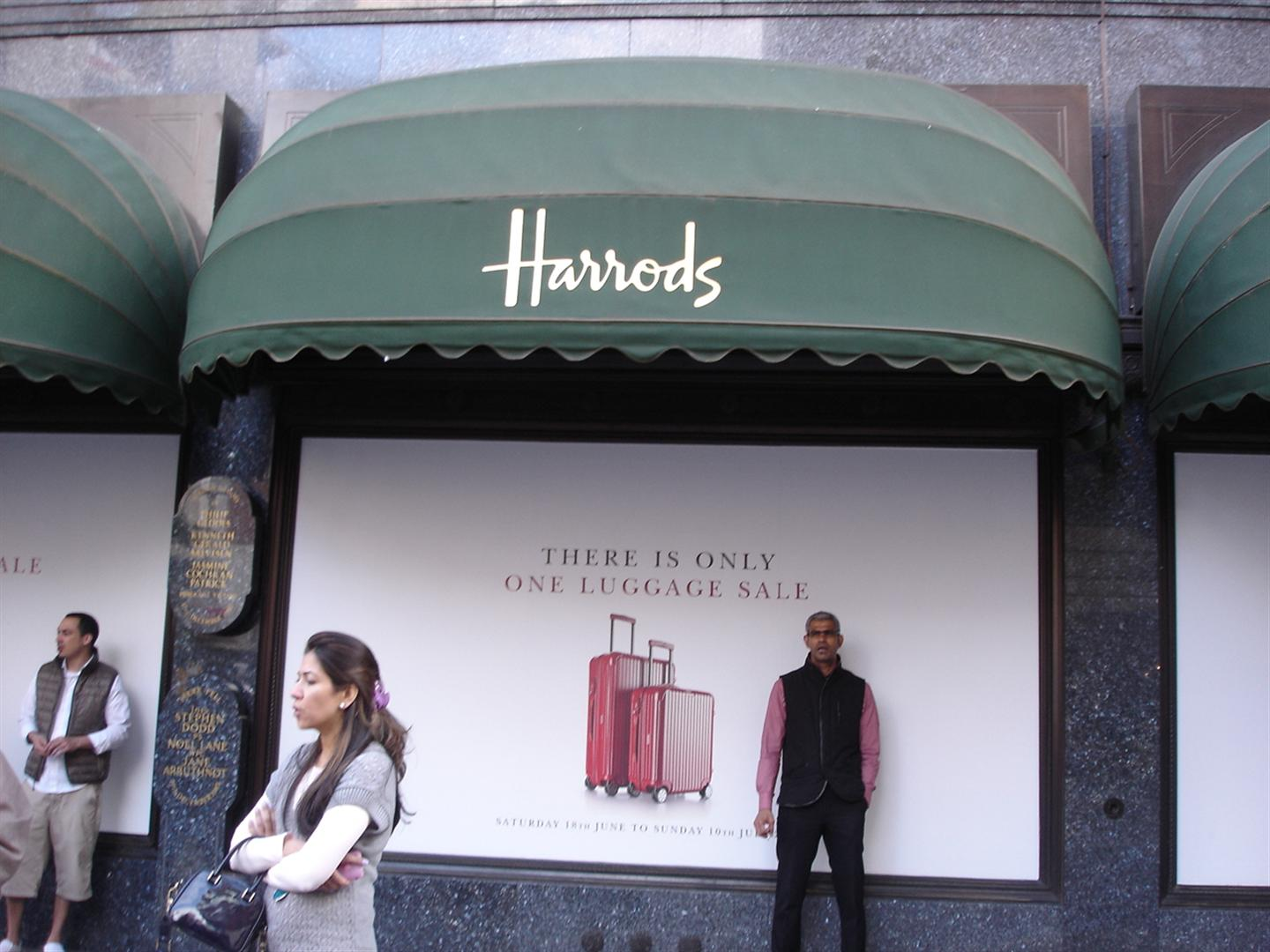 Day 6 Pic 5 - THE Harrods