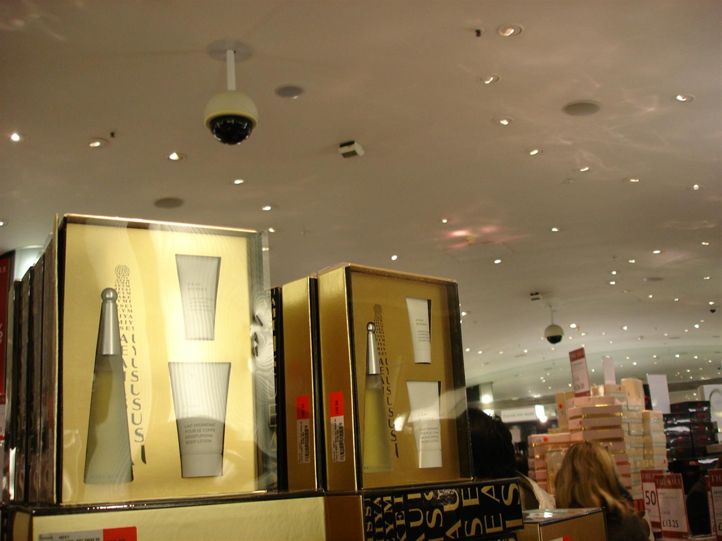 Day 6 Pic 6 - Inside Harrods - Fragrance Section