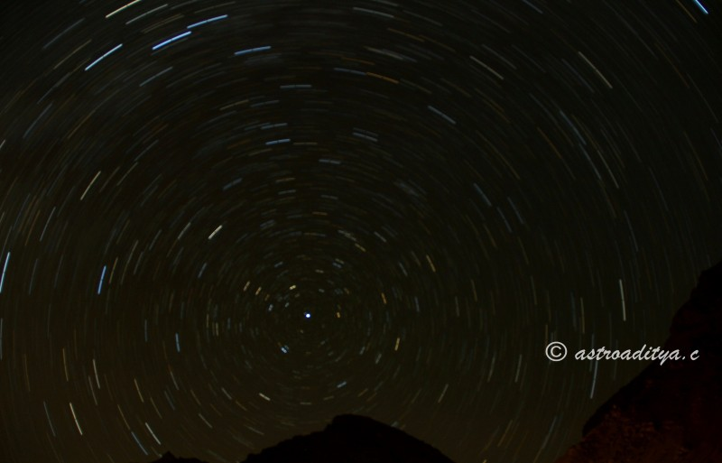 Star Trails - Kaza