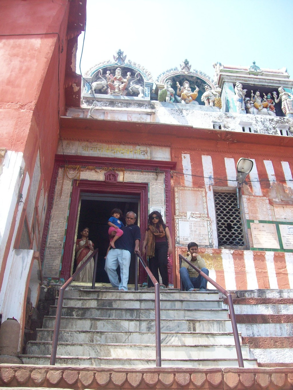 13.Kedareshwar mandir on Kedar ghat
