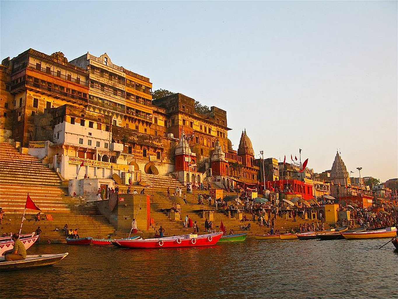 Image result for ghats in varanasi