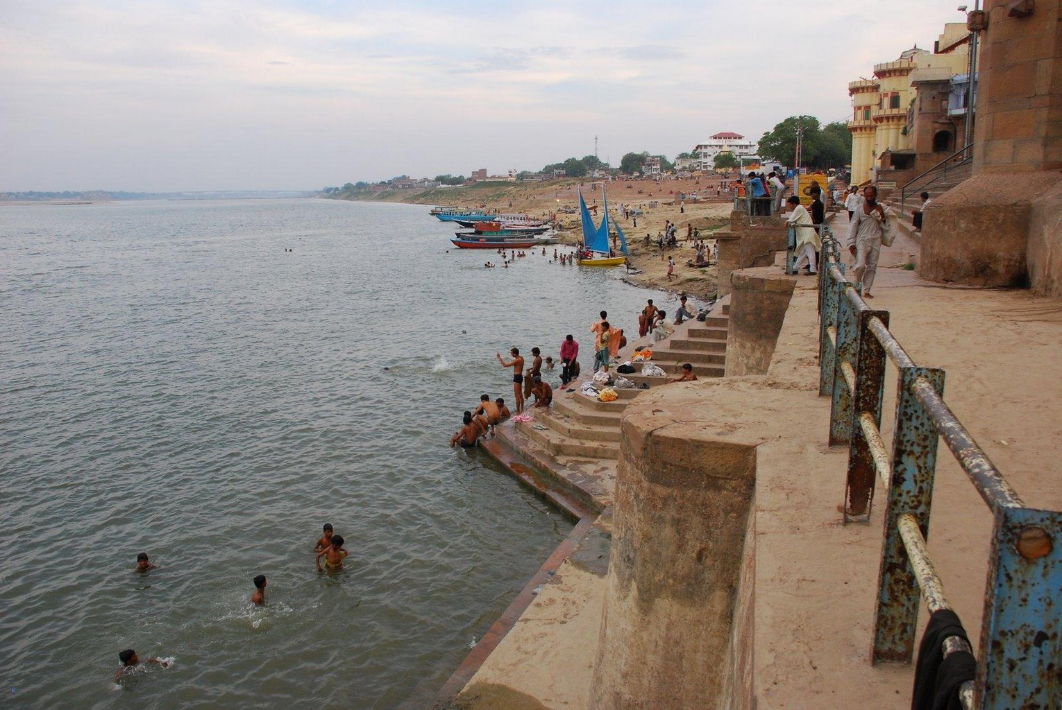 Varanasi - Afternoon on the ghats.
