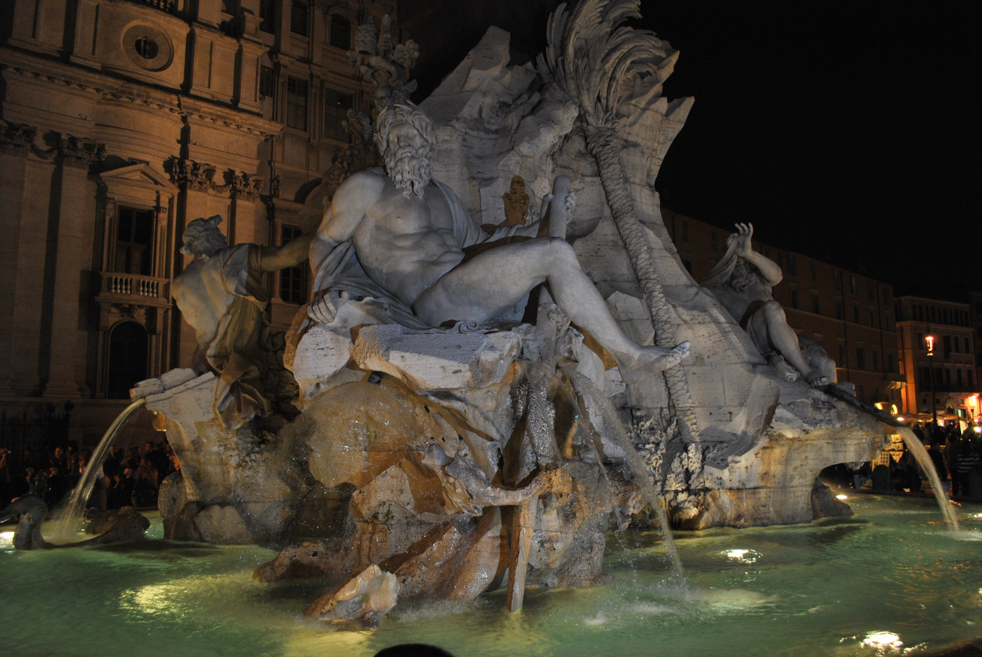 Fountain @ Navona