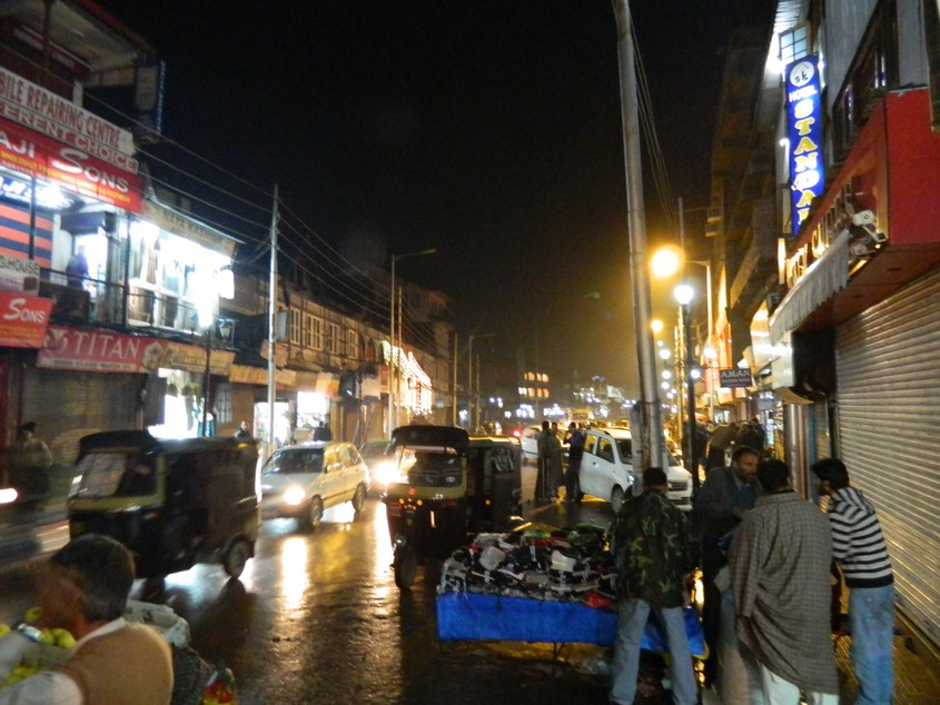 The Market in Lal Chowk
