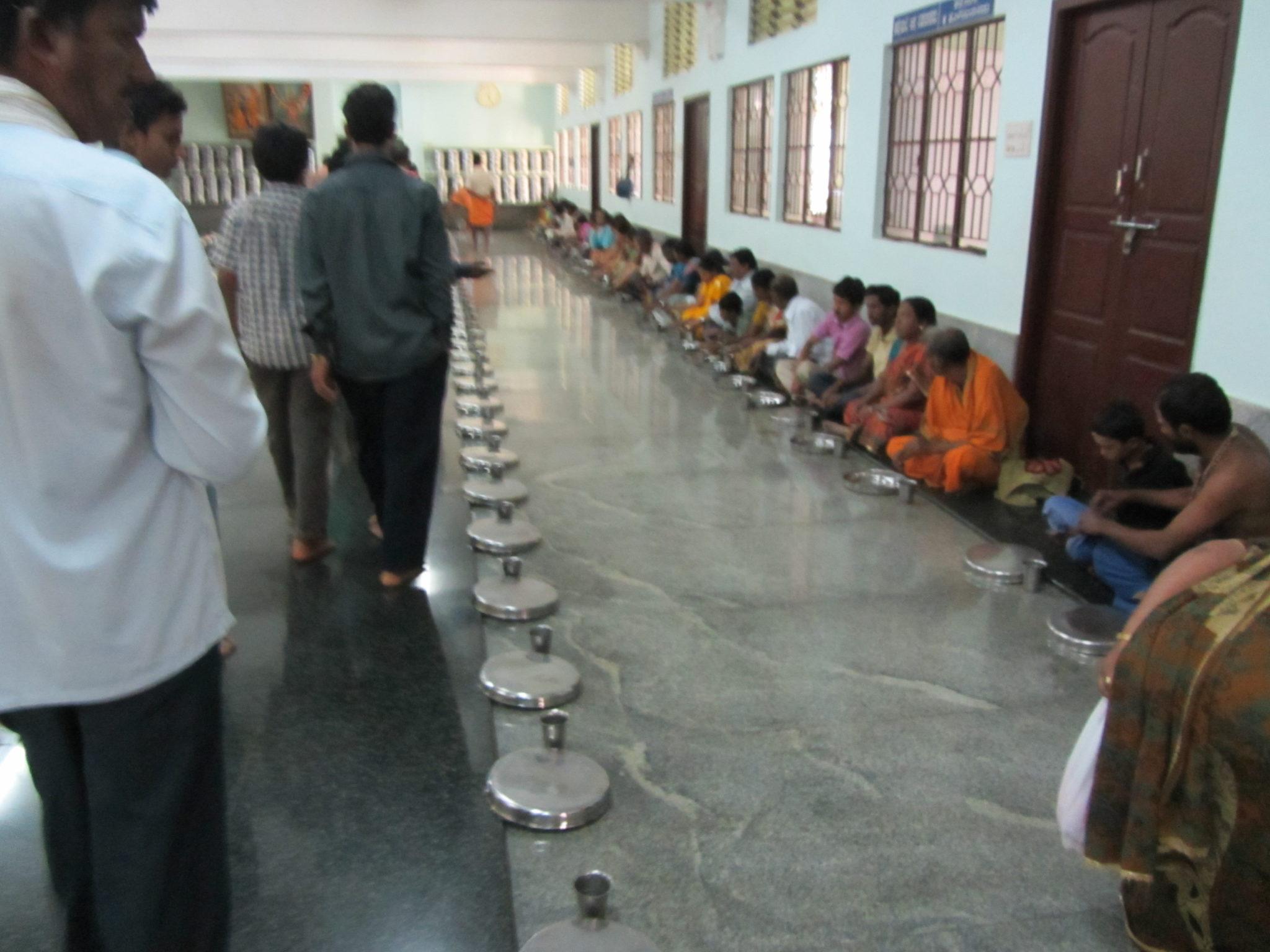 PIC 10-Annadana Hall at Horanadu Annapoorneshwari temple ...