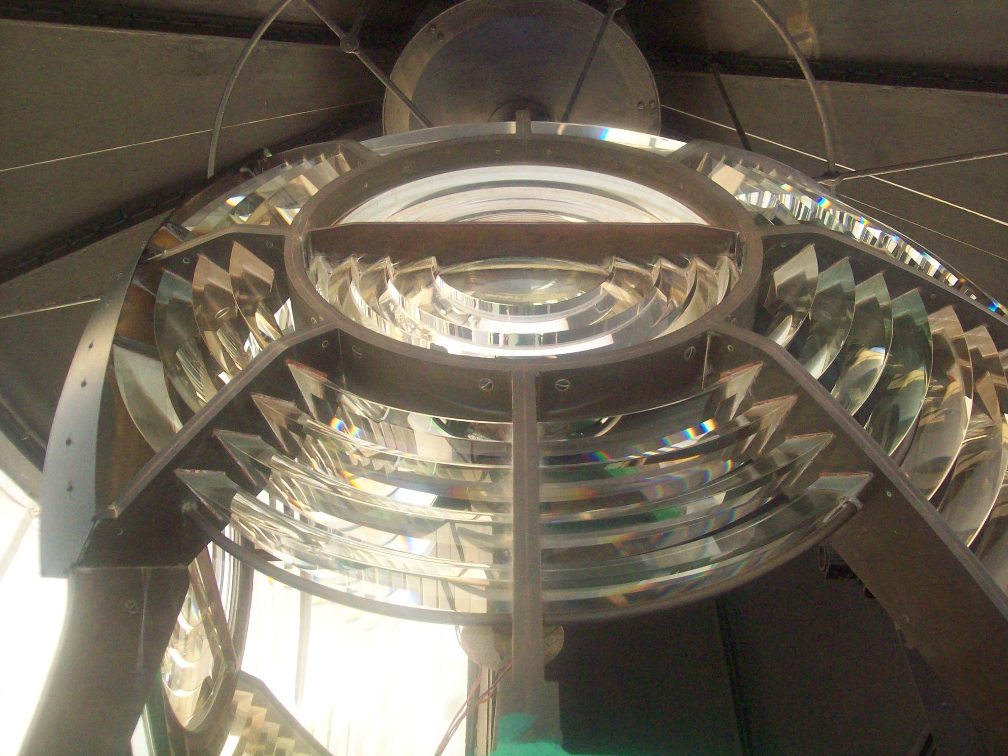 Light Which rotates at 12 rotations per minute in Dwarka light house.