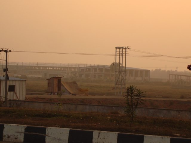Singur Old Nano-factory and Durgapur Expressway