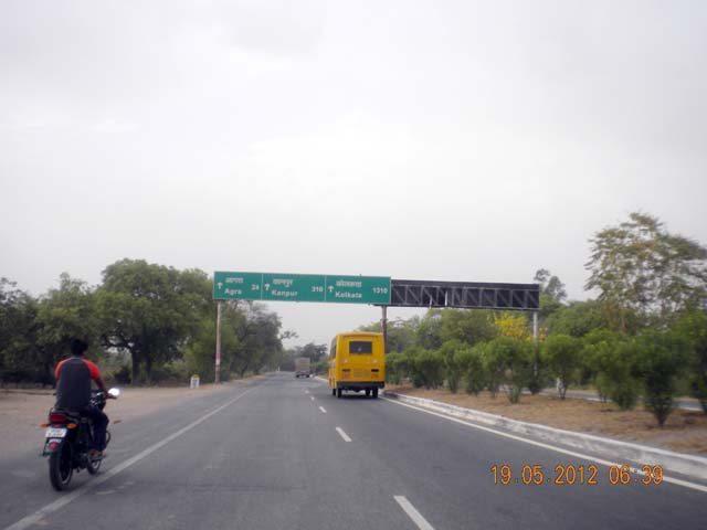 Target destination – Kolkata 1310 km